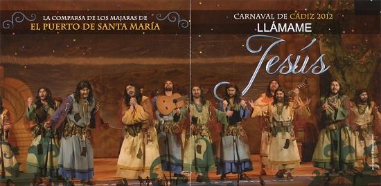 Portada y Contraportada CD - Llámame Jesús - Frontal