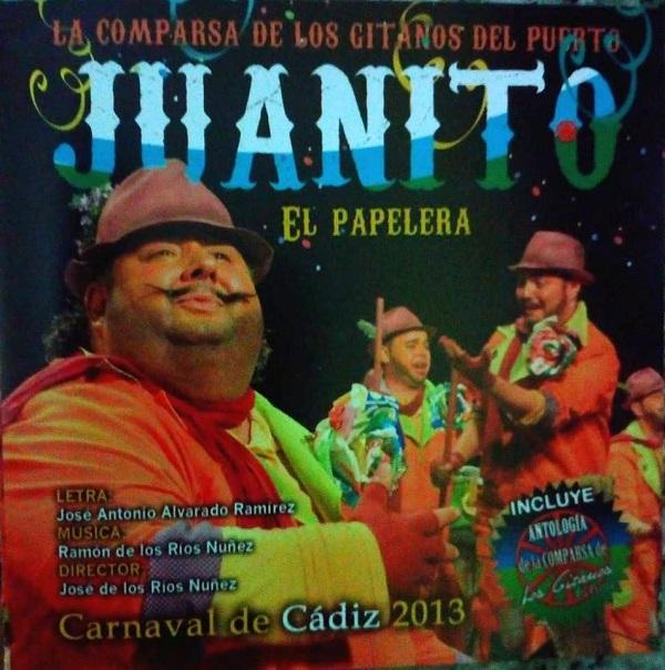 Juanito El Papelera - Portada CD