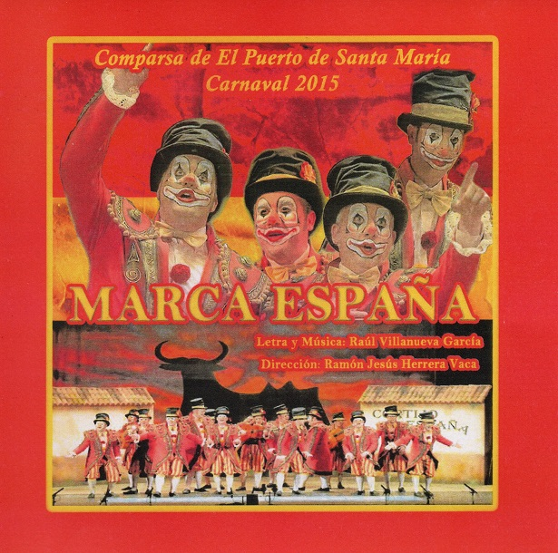 Marca España - Portada CD