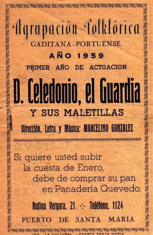 Cancionero de D. Celedonio...