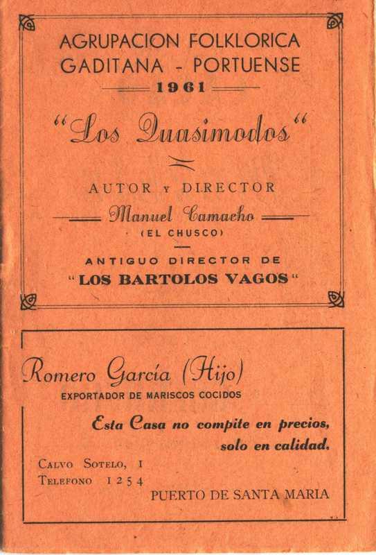 Los Cuasimodos - Cancionero