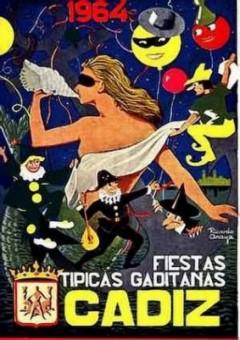 Cartel Oficial de Cádiz - 1964.