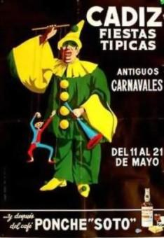 Cartel Oficial de Cádiz - 1967.