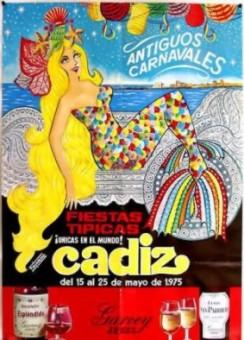 Cartel Oficial de Cádiz 1975