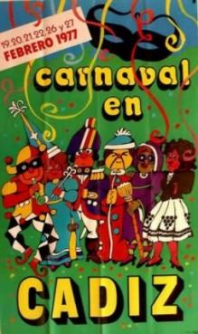 Cartel Oficial de Cádiz 1977