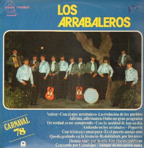 Disco Vinilo - Los Arrabaleros