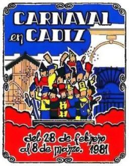 Cartel Oficial de Cádiz 1981