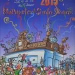 """""""La fuente se vuelve loca"""", Cartel del Carnaval 2015"""