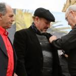 Javier Ruibal recibe el Vapor de Oro de la peña La Mezquita