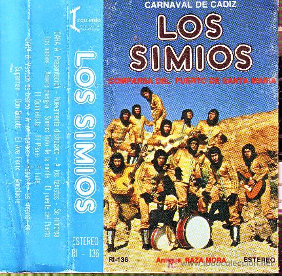 Los Simios - Carátula