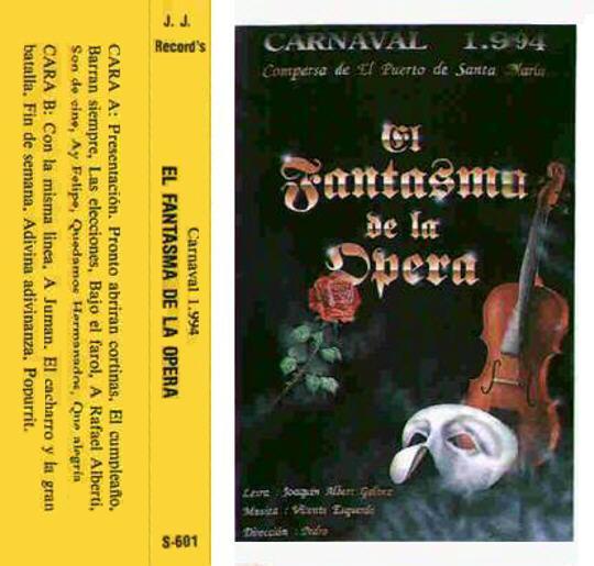 El Fantasma de la Opera - Carátula