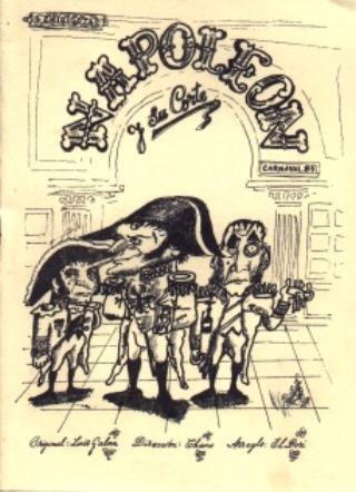 Napoleón y su corte - Cancionero