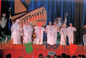 Carnavaleros de Porcelana