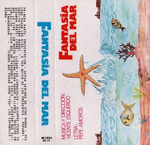 Fantasía del Mar - Carátula CassetteFantasía del Mar - Carátula Cassette