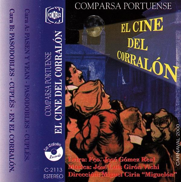 El Cine del Corralón - Carátula Cassette