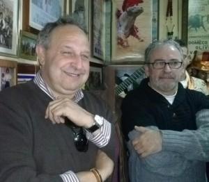Luis Galán y Jesús Franco