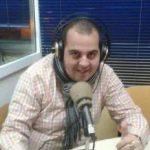 Juanito Conejero, guionista en una emisora nacional
