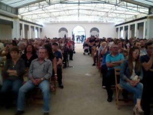 Público asistente al Festival Benéfico