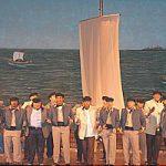 2003.- El Barco de los barriles – José Mata Morales