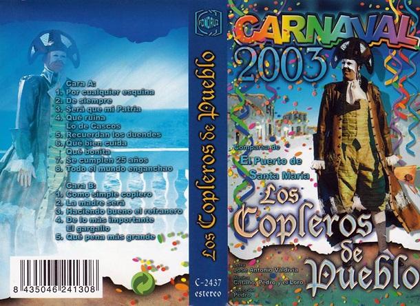 Los Copleros de Pueblo - Carátula Cassette