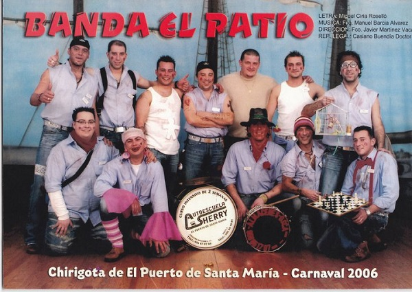 Banda el Patio - Cancionero
