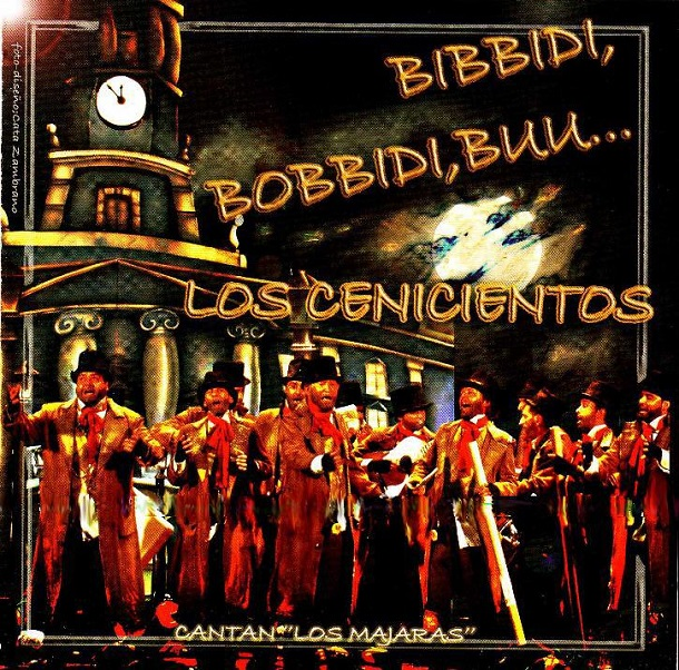 Bibbidi Bóbbidi Búu, Los Cenicientos - Portada CD
