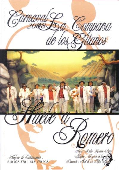 Huele a Romero - Cancionero