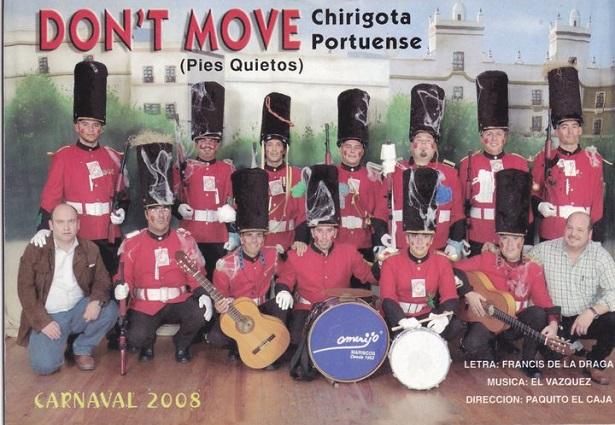 Don´t Move (pies quietos) - Cancionero