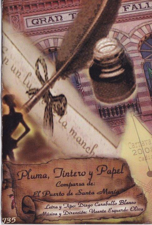 Pluma, tintero y papel - Cancionero
