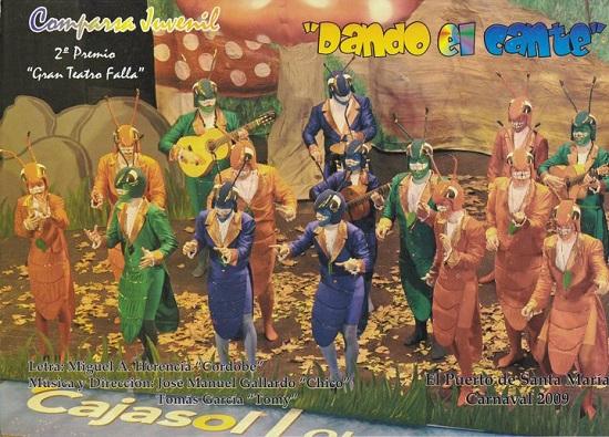 Dando el Cante - Cancionero