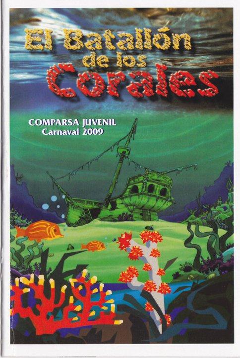 El Batallón de los Corales - Cancionero