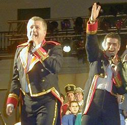 Manolo Casal y Modesto Baarragán