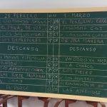 2017.- Orden de Actuación del COAC de El Puerto