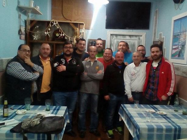 """Algunos de los miembros que de momento componen es nueva """"Asociación Carnavalera Portuense""""."""