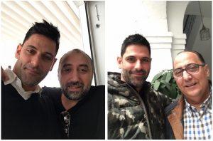 Buyo con Tizón y Josele