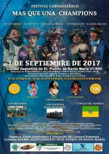 Festival Carnavalesco - Cartel Anunciador