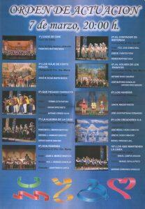 Orden de Actuación 07-03-11