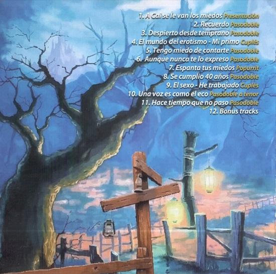 Juan sin miedo - Interior del CD