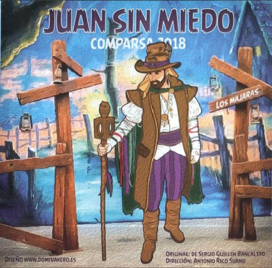 Juan sin miedo - Portada del CD