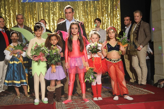 Las 5 candidatas elegidas como Coquineras Infantiles - 2012