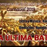 Raúl Villanueva anuncia el nombre de su próxima comparsa para 2019