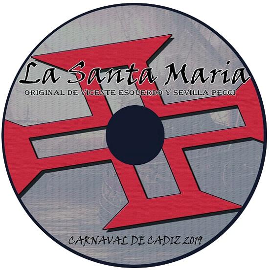 CD de La Santa María - Disco