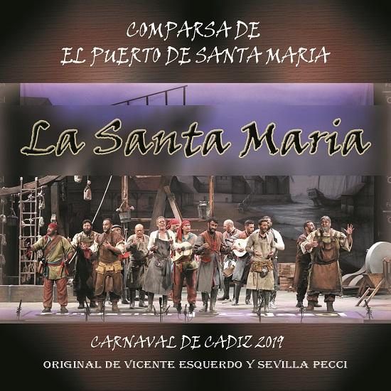 CD de La Santa María - Portada