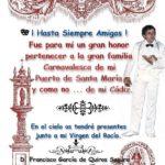 Fallece D. Francisco García de Quiros Segura «Pacuchi»