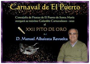 Manuel Albaiceta Revuelta - XXII Pito de Oro