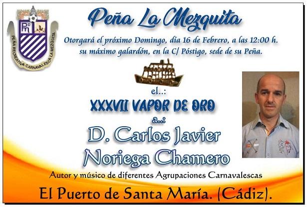 XXXVII - Vapor de Oro - Carlos Javier Noriega
