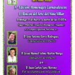 X-Edición, Homenajes Carnavalescos «El Rincón del Arte del niño Villar»