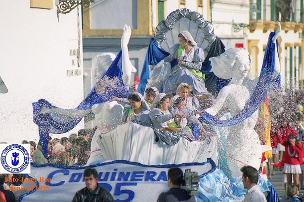 Coquineras 1995 en Carroza