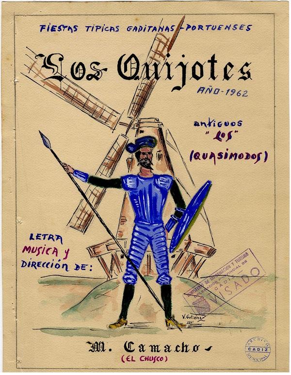 Los Quijotes - Boceto