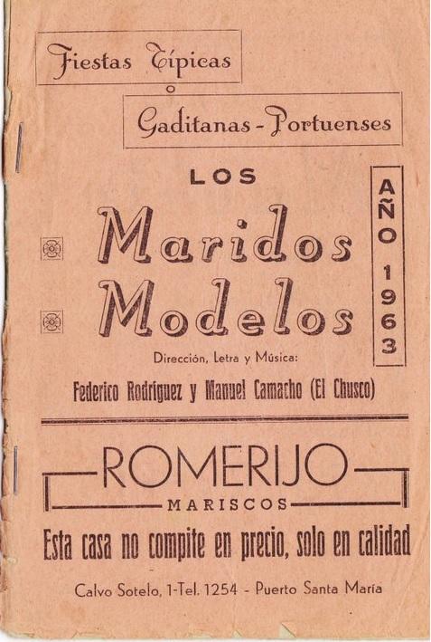 Los Maridos Modelos - Cancionero